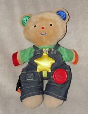Melissa & Doug K's Kids Bear Teddy Wear Plush Learn to Dress Doll Soft Toy