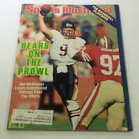 Sports Illustrated: October 21 1985 - Jim McMahon Leads Undefeated Chicago