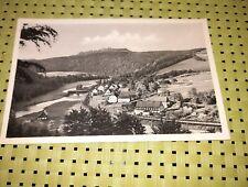 DDR Postkarte HENNERSDORF Augustusburg Erzgebirge Sachsen Gesamtansicht AK 1956