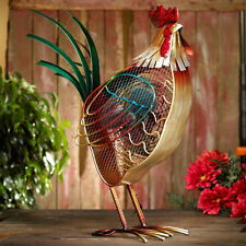 COLORFUL COUNTRY ROOSTER PORTABLE TABLE FAN BY DECO BREEZE - NEW