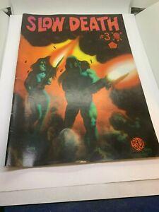 Slow Death 3, Last Gasp, 1971, Classic Underground Comix