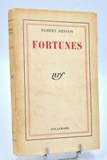 Robert Desnos : FORTUNES - 1942. Edition originale