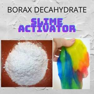 Borax Decahydrate Highest Quality KIDS CRAFT BOUNCY BALL SLIME ACTIVATOR FUN