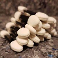 50 x Double Ended Disposable EyeShadow Brush Sponge Applicators Make Up