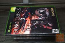 Dino Crisis 3 (Xbox 2003) FACTORY SEALED! - ULTRA RARE!