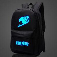Anime Fairy Tail Logo Sports Messenger School Backpack Night Luminous Bag
