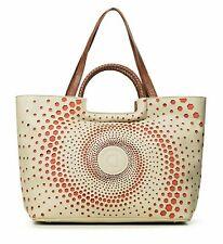 Desigual Legacy Holbox Shopping Bag Handtasche Schultertasche Tasche Blanco Rot