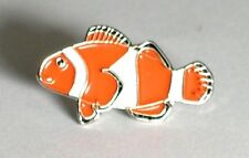Metal Enamel Pin Badge Brooch Fish Clown Clowne Tropical  Fishing Angler Angling