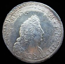 France: Louis XIV Ecu ND (1704-09) UNC