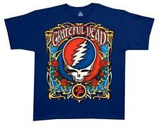 OFFICIAL LICENSED - GRATEFUL DEAD - STEAL YOUR ROSES T SHIRT ROCK HIPPY