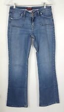 LEVI 545 Women's Jeans Genuinely Crafted Low Boot Cut Size 6 Medium Blue