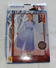Rubies 5355 Disney Frozen 2 Elsa Basic Dress Up Costume Size 3-5 Years New
