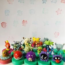 Various Working 1998 Nintendo Pokemon Ink Stamper Figures Gacha Japan Rare Stamp