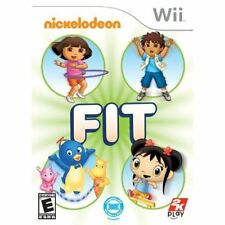 Nickelodeon Fit For Wii And Wii U Very Good 5Z