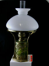 Petroleumlampe Loetz um 1910 in Bronzefassung komplett aus der Zeit Museal TOPP
