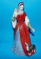 "Royal Doulton Estatuilla Ornamento ""Anne Ana 'HN3232 Ltd Ed 1st Q + Cert"