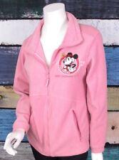 Disneyland Resort Paris Small S Pink Minnie Mouse Patch Disney Fleece Jacket