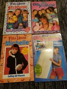 Full House Series Lot of 4 Books Stephanie, Club Stephanie & Michelle Paperback