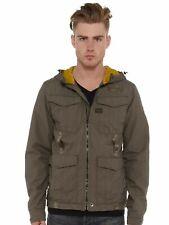 G-Star Raw Recolite Hooded Windbreaker Combat Ripstop Men's Jacket Size M Medium