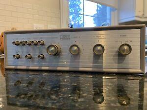 Ampex 402 /403 stereo vacuum tube preamp Marantz Era Hi Fisher