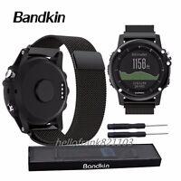 Milanese Loop Bracelet Stainless Steel Watch Band Strap For Garmin Fenix 3 / 5X