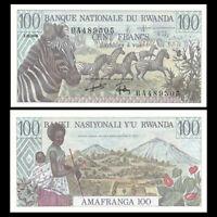 P-14 1000 Francs 1978 aUNC to UNC ---/> scarce Rwanda