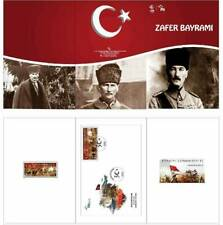 TURKEY / 2018 - (PORTFOLIO) VICTORY DAY, (1-5.000) MNH, Mi: 4455 and Block 182