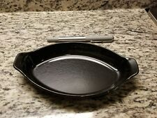 LOT of 23 Carlisle 740002 8oz Oval Casserole Dish Continental Black Poly