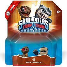 Skylanders TRAP ÉQUIPE Mini Duo >> Bop & Terrabite << - NEUF/NEW * BOX DMG *