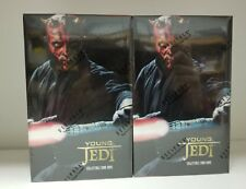 2 box STAR WARS Young Jedi Collectible Card Game Collectible RARE Total 24 Packs