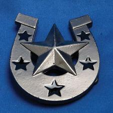 Star Horse Shoe Belt Buckle
