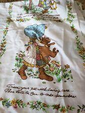 New listing Vintage Holly Hobbie Sheet Set by American Greetings