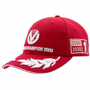 Michael Schumacher Cap World Champion 2000 Limited Edition Red