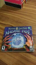 Madame Fate Mystery Case Files PC Windows Video Game excellent condition