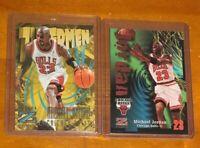 1997 Skybox Z Force Michael Jordan Zuperman Card #179 & #23 RARE 🔥 HOF NM-MINT