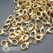 10 Pieces Lobster Clasps Medium Popular Clasps Basic Jewelry Making Findings