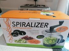 kitchen gadgets fancy slicer . Spiralizer Fruit And Veg cutter new in box