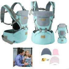 9 in 1 Baby Carrier Ergonomische Babytrage Kindertrage Bauchtrage Rückentrage DE