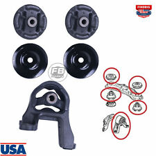 5x Rear Differential Arm Mounting Bushing + Top Support Set For Honda/CR-V 01-12