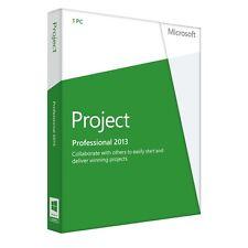 MICROSOFT PROJECT PROFESSIONAL 2013 VL 32/64 BIT ESD - ORIGINALE FATTURABILE