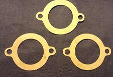 Set of 3 - Correct Shape Thermostat Housing Gasket Waterneck Ford I6 144 170 200