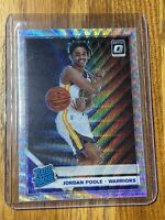 #2 2019-20 JORDAN POOLE Panini Donruss Optic FANATICS SILVER PRIZM WAVE #169 🔥