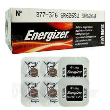 6 x Energizer 377 376 batteries Silver Oxide 1.55V SR66 SR626SW Watch EXP:2020