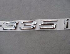 335i Letter Trunk Emblem Rear Badge Decal Sticker for BMW E90 E91 F30 335 i