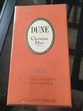 RARE DUNE PARFUM by Christian Dior 0.25oz/ 7.5ml new&sealed