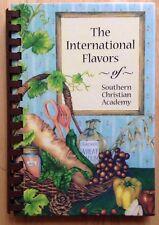 1998 SOUTHERN CHRISTIAN ACADEMY SCHOOL COOKBOOK, AGAT, GUAM
