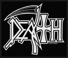 DEATH - Patch Aufnäher - logo 10x9cm