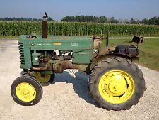 John Deere M tractor runs good ORIGINAL JD Paint & Decals 1-Owner Runs Great
