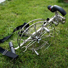 """PROFESSIONAL 11"""" Strong Stainless Kite Line Winder Reel Brakes Control Adult Men"""
