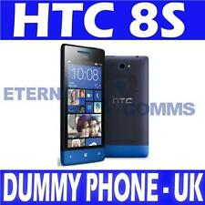 BRAND NEW HTC 8S DUMMY DISPLAY PHONE - BLACK & BLUE - UK SELLER